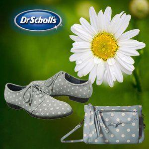 Dr. Scholl's Women's Justify Oxford Shoe Polka Dot